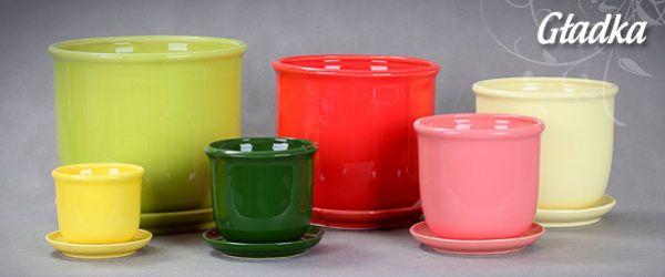 Doniczki Gładka Gella Producent Doniczek Ceramicznych